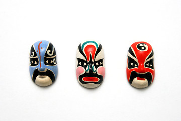 Chinese traditional culture Opera facial masks