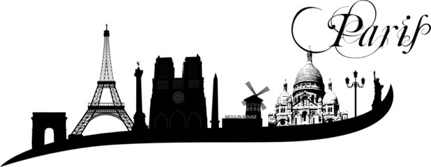 Paris Wallsticker