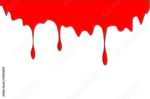 Tache peinture rouge photo libre de droits sur la banque - Tache de peinture sur vetement ...