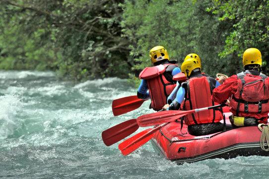 rafting en haute définition