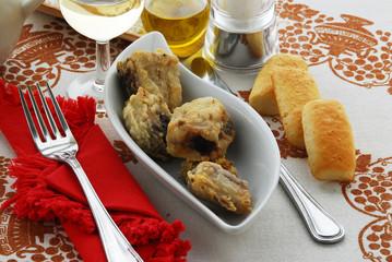 Anguilla fritta Bisata frita - Secondi di pesce Veneto