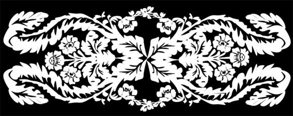 isolated on black stripe design