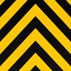 arrow warning stripe