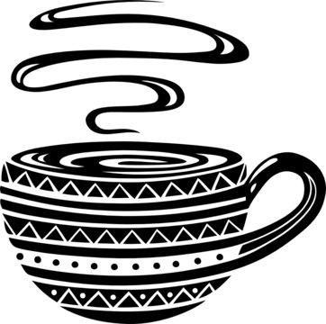 Große Kaffeetasse, Cafe, Kaffee