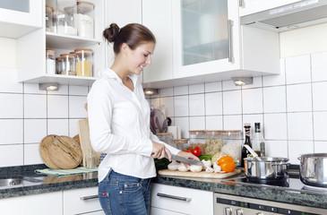 bei der zubereitung von gemüse