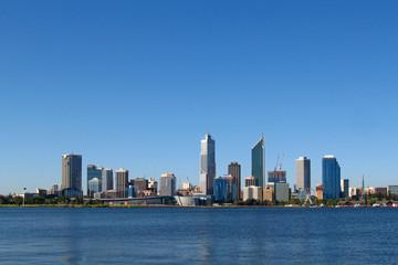 City Skyline Perth Western Australia
