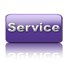 boton service azul