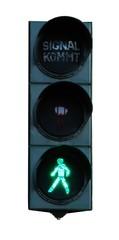 Fußgängerampel grün
