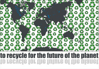 to recycle for the future of the planet