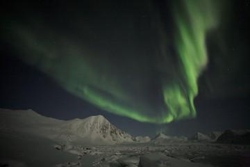 Aurora Borealis, Svalbard, Spitsbergen