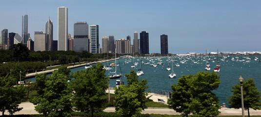 Chicago Summer Panorama