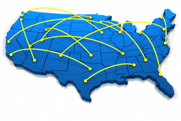 United States networking lines