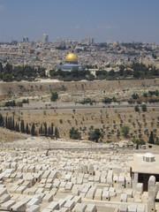 Jerusalem depuis le Mont des Oliviers