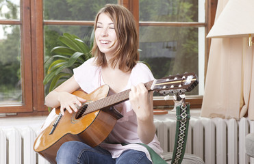 freude am gitarre spielen