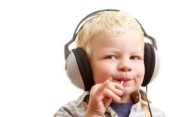 Musik hören und naschen
