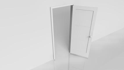 Türe öffnen