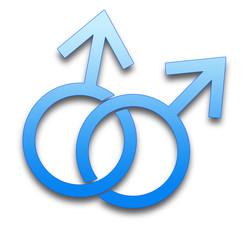 simbolo omosessualità maschile