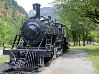 The Old Train To Newhalem Washington