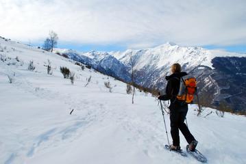 Randonnée raquettes en Ariège