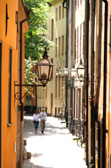 Walking in Gamla Stan  - Stockholm, Sweden