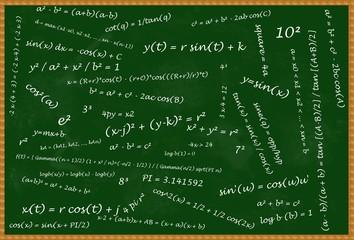 Mathematical blackboard