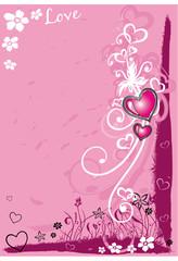 Romantik, Liebe, Valentin Hintergrund