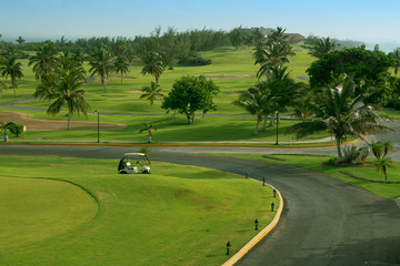 landscape for golf