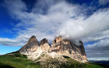 Montagna, Dolomiti, Alpi, Italia