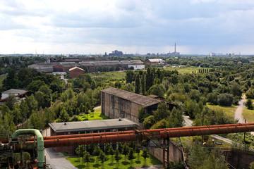 Panoramblick im Ruhrgebiet