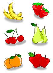 Coppie di frutti