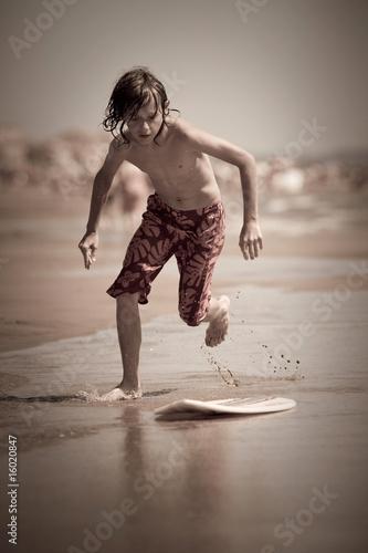 surf skimboard plage jeu enfant glisse planche amuser t. Black Bedroom Furniture Sets. Home Design Ideas