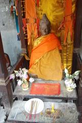 Statue de Bouddha a Angkkor Wat