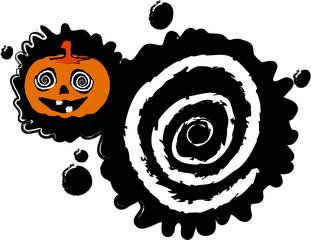 the vector halloween blot banner