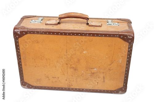 vieille valise photo libre de droits sur la banque d. Black Bedroom Furniture Sets. Home Design Ideas