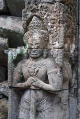 Statue a Angkor