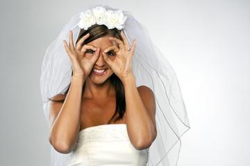 Modern Bride Playing