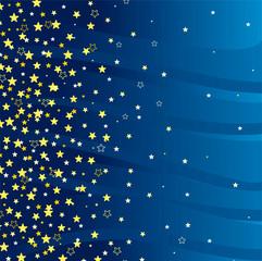 Beautiful star background.