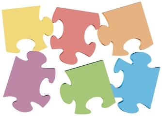 Buntes Puzzle
