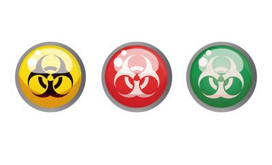 botones virus