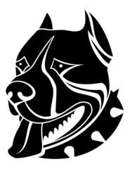 Guard dog as a symbol