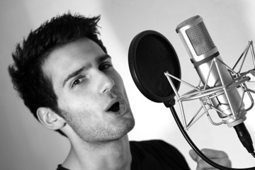 singer with mic 3