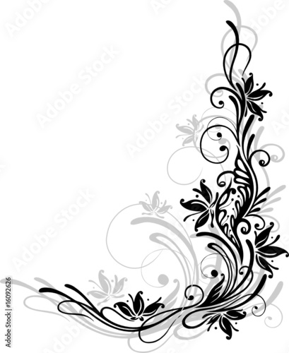 blumen ornament floral muster bl te stock image and royalty free vector files on fotolia. Black Bedroom Furniture Sets. Home Design Ideas