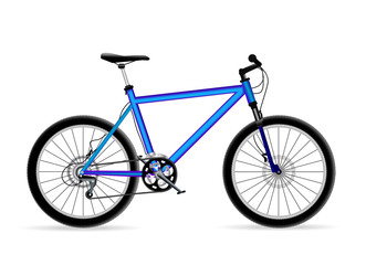 vector mountain bicycle