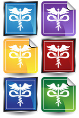 medical symbol color