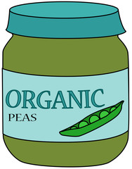 Baby Food Peas