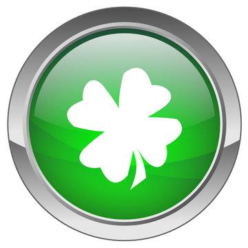 """Bouton """"Bonne Chance"""" - """"Good Luck"""" button"""