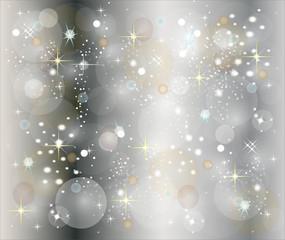 illustration eines silbernen weihnachtshintergrundes