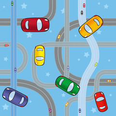Foto op Plexiglas Op straat cars on roads