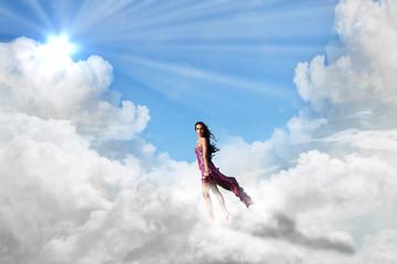Wie auf Wolken ...
