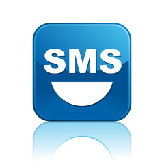 Square button / SMS